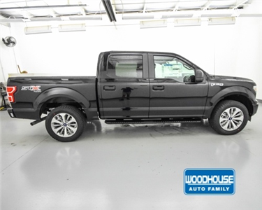 2018 F-150 SuperCrew Cab 4x4,  Pickup #T182630 - photo 4