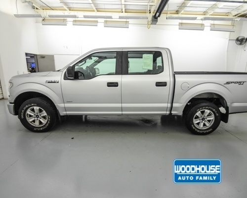 2015 F-150 SuperCrew Cab 4x4,  Pickup #T182662B - photo 8