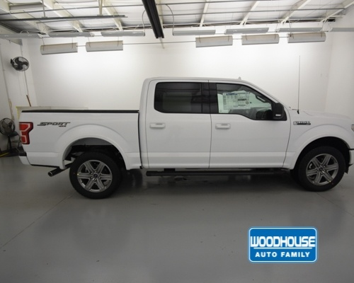 2018 F-150 SuperCrew Cab 4x4,  Pickup #T183460 - photo 4