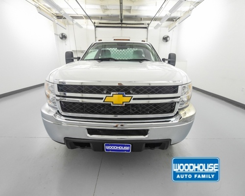 2014 Silverado 3500 Regular Cab 4x4,  Platform Body #T188350A - photo 3