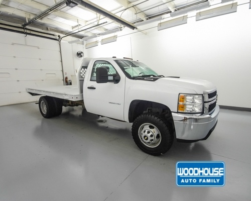 2014 Silverado 3500 Regular Cab 4x4,  Platform Body #T188350A - photo 4