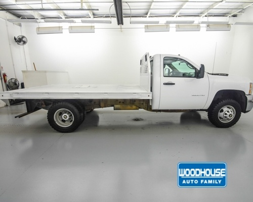 2014 Silverado 3500 Regular Cab 4x4,  Platform Body #T188350A - photo 5