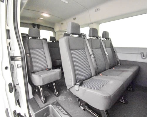 2019 Transit 350 Med Roof 4x2,  Passenger Wagon #T190232 - photo 7