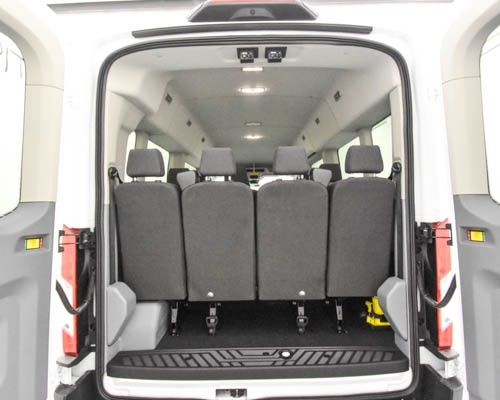 2019 Transit 350 Med Roof 4x2,  Passenger Wagon #T190232 - photo 8