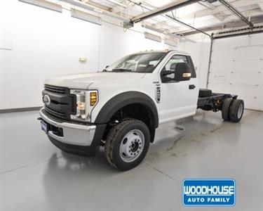 2019 F-450 Regular Cab DRW 4x4,  Cab Chassis #T190270 - photo 1