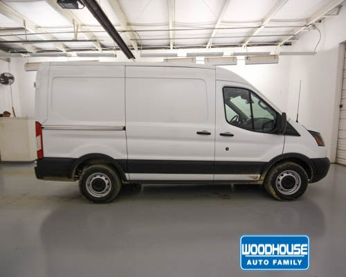 2019 Transit 150 Med Roof 4x2,  Empty Cargo Van #T190713 - photo 4