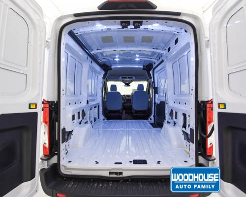 2019 Transit 150 Med Roof 4x2,  Empty Cargo Van #T190713 - photo 2