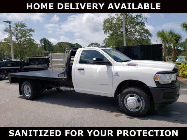 2020 Ram 3500 Regular Cab DRW 4x4, CM Truck Beds Platform Body #G145404 - photo 1