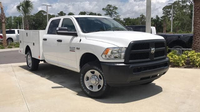 2018 Ram 2500 Crew Cab 4x4,  Warner Service Body #G166524 - photo 3