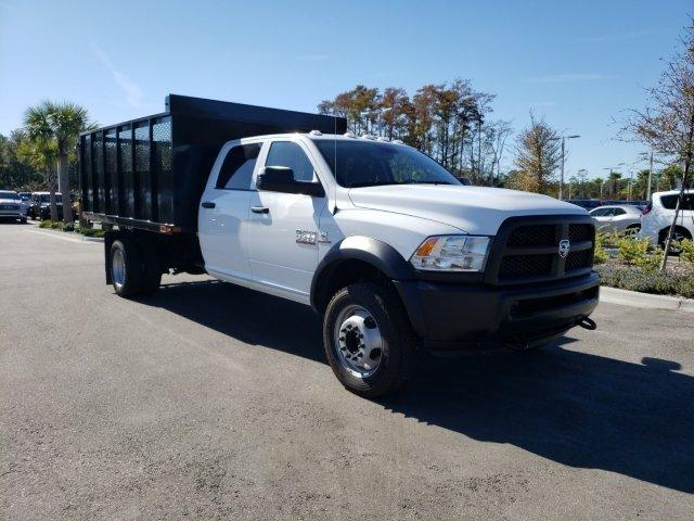 2018 Ram 5500 Crew Cab DRW 4x4,  Action Fabrication Landscape Dump #G321402 - photo 3