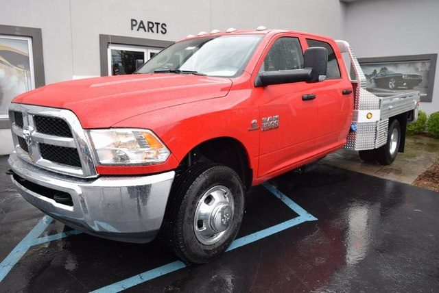 2017 Ram 3500 Crew Cab DRW 4x4,  Platform Body #A632299 - photo 4
