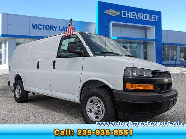 2020 Chevrolet Express 2500 4x2, Adrian Steel Upfitted Cargo Van #G0013 - photo 1