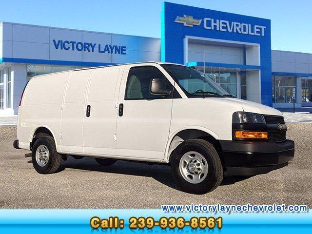 2021 Chevrolet Express 2500 4x2, Adrian Steel Upfitted Cargo Van #G1007 - photo 1