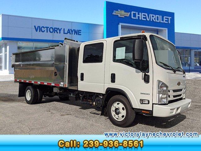 2020 Chevrolet LCF 3500 Crew Cab DRW 4x2, Premier Truck Center Landscape Dump #P0020 - photo 1