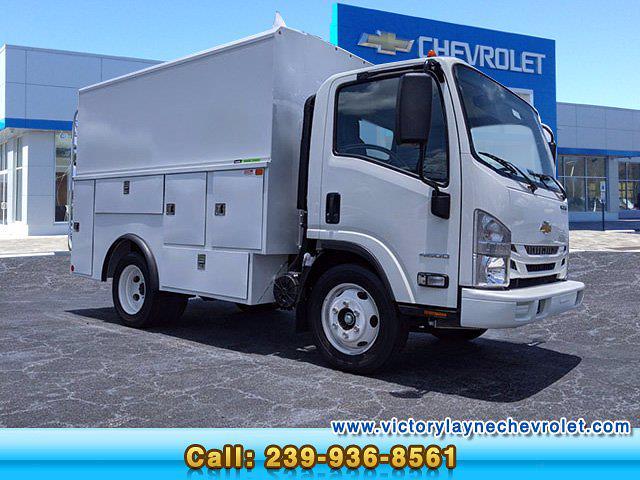 2021 Chevrolet LCF 4500 Regular Cab 4x2, Reading Service Utility Van #P1049 - photo 1