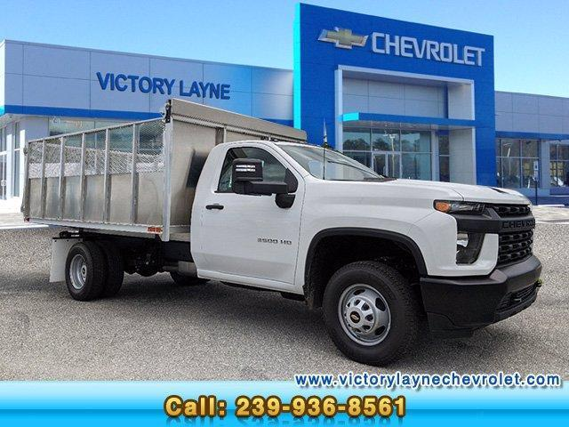 2020 Chevrolet Silverado 3500 Regular Cab DRW 4x4, Action Fabrication Landscape Dump #S0167 - photo 1