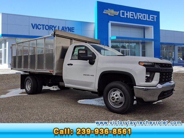 2020 Chevrolet Silverado 3500 Regular Cab DRW 4x2, Action Fabrication Landscape Dump #S0228 - photo 1