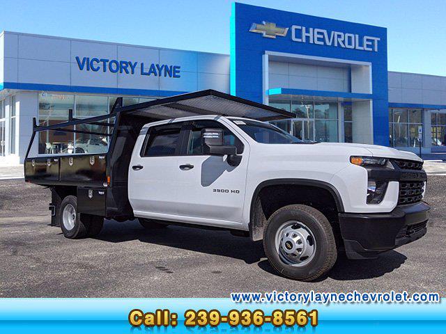 2020 Chevrolet Silverado 3500 Crew Cab DRW 4x4, Action Fabrication Contractor Body #S0315 - photo 1