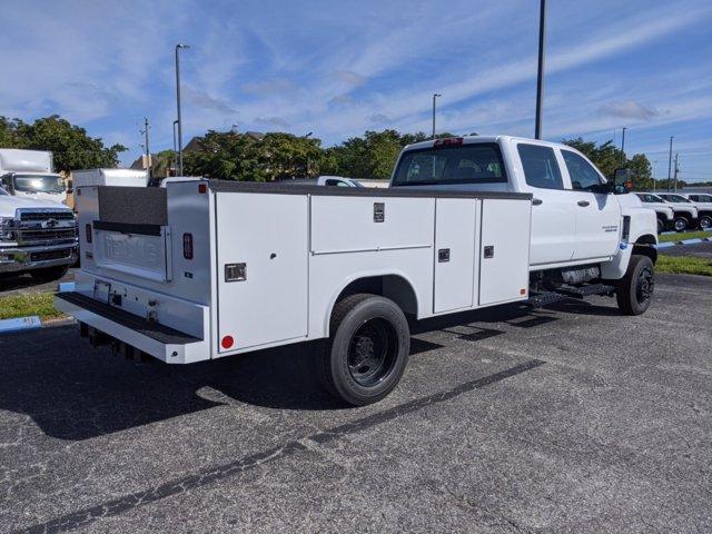 2020 Chevrolet Silverado Medium Duty Crew Cab DRW 4x4, Reading Service Body #S0321 - photo 1