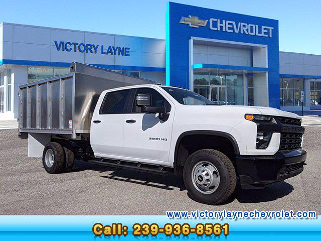 2020 Chevrolet Silverado 3500 Crew Cab DRW 4x4, ABG Fabrication Landscape Dump #S0341 - photo 1
