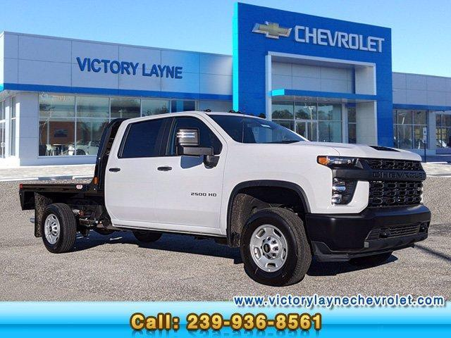 2021 Chevrolet Silverado 2500 Crew Cab 4x4, CM Truck Beds Platform Body #S1057 - photo 1