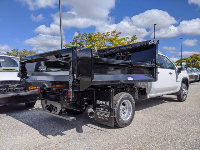 2021 Chevrolet Silverado 3500 Crew Cab AWD, Knapheide Dump Body #S1135 - photo 1