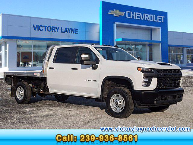 2021 Chevrolet Silverado 2500 Crew Cab 4x4, CM Truck Beds Platform Body #S1150 - photo 1