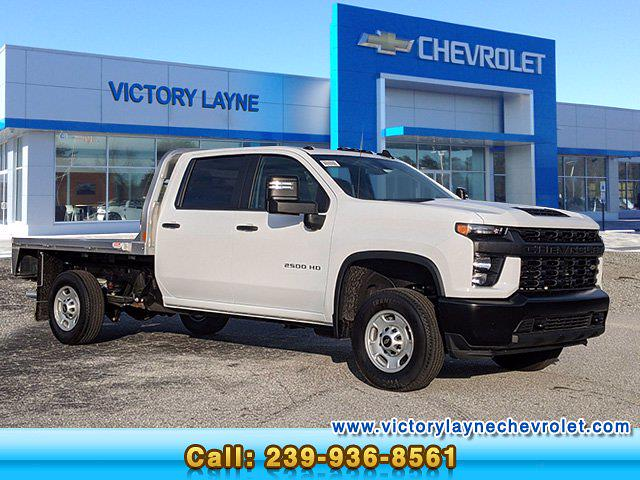 2021 Chevrolet Silverado 2500 Crew Cab 4x2, CM Truck Beds Platform Body #S1151 - photo 1
