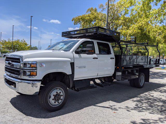 2021 Chevrolet Silverado 5500 Crew Cab DRW 4x4, Knapheide Concrete Concrete Body #S1183 - photo 7
