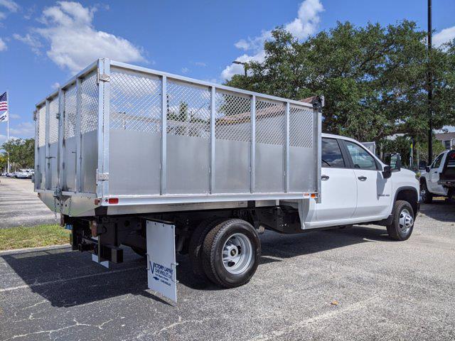2021 Chevrolet Silverado 3500 Crew Cab AWD, Action Fabrication Landscape Dump #S1213 - photo 1