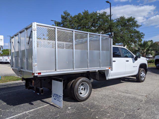 2021 Chevrolet Silverado 3500 Crew Cab 4x2, Action Fabrication Landscape Dump #S1214 - photo 1