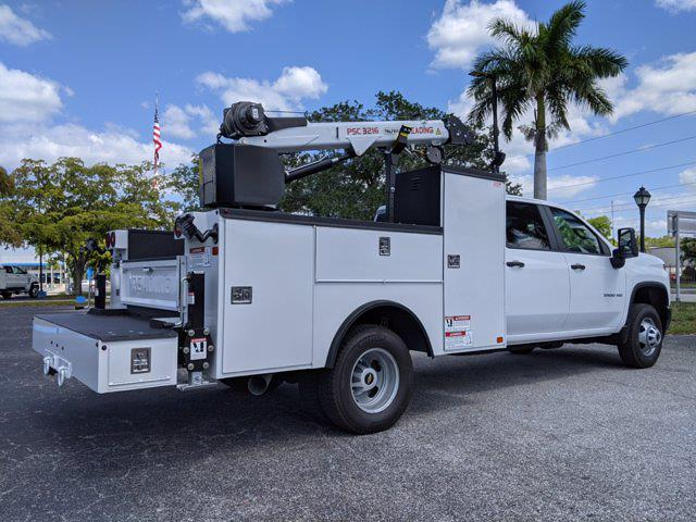 2021 Chevrolet Silverado 3500 Crew Cab AWD, Reading Master Mechanic HD Crane Mechanics Body #S1253 - photo 2