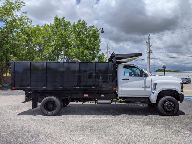 2021 Silverado 5500 Regular Cab DRW 4x4,  PJ's Truck Bodies Landscape Dump #S1380 - photo 4