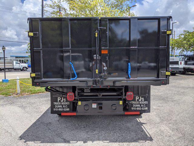 2021 Silverado 5500 Regular Cab DRW 4x4,  PJ's Truck Bodies Landscape Dump #S1380 - photo 5