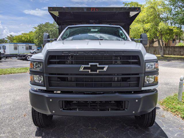 2021 Silverado 5500 Regular Cab DRW 4x4,  PJ's Truck Bodies Landscape Dump #S1380 - photo 8