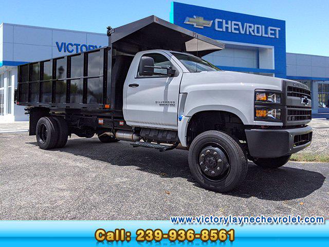 2021 Chevrolet Silverado 5500 Regular Cab DRW 4x4, PJ's Landscape Dump #S1380 - photo 1