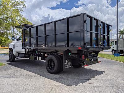 2021 Silverado 5500 Regular Cab DRW 4x4,  PJ's Truck Bodies Landscape Dump #S1380 - photo 6