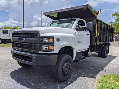 2021 Silverado 5500 Regular Cab DRW 4x4,  PJ's Truck Bodies Landscape Dump #S1380 - photo 7