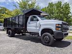 2021 Silverado 5500 Regular Cab DRW 4x4,  PJ's Truck Bodies Landscape Dump #S1380 - photo 3