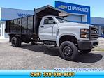 2021 Silverado 5500 Regular Cab DRW 4x4,  PJ's Truck Bodies Landscape Dump #S1380 - photo 1