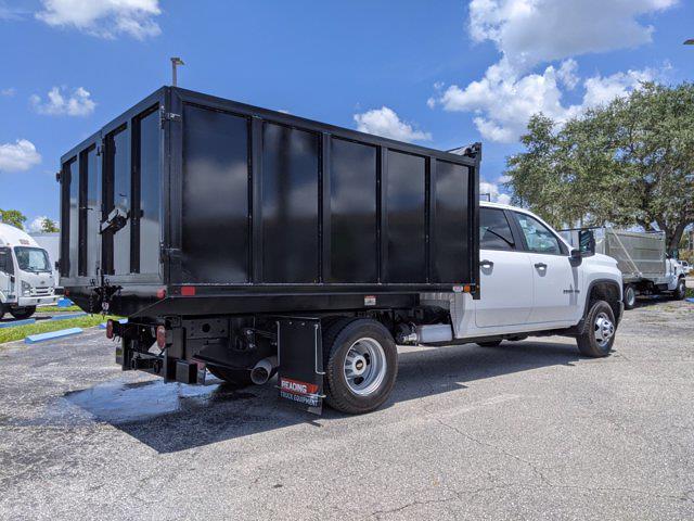 2021 Chevrolet Silverado 3500 Crew Cab AWD, Reading Landscape Dump #S1418 - photo 1