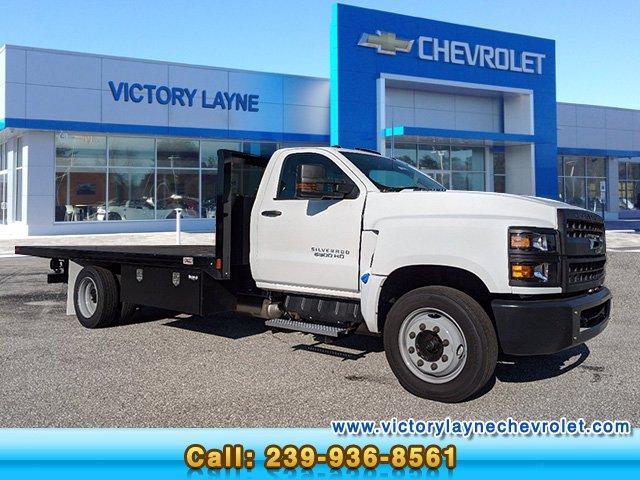 2019 Chevrolet Silverado Medium Duty Regular Cab DRW 4x2, CM Truck Beds Platform Body #S9180 - photo 1