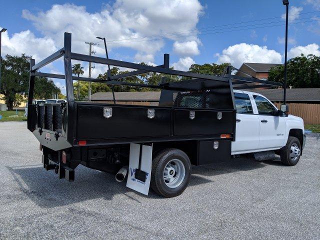2019 Silverado 3500 Crew Cab DRW 4x4, Action Fabrication Contractor Body #S9225 - photo 1