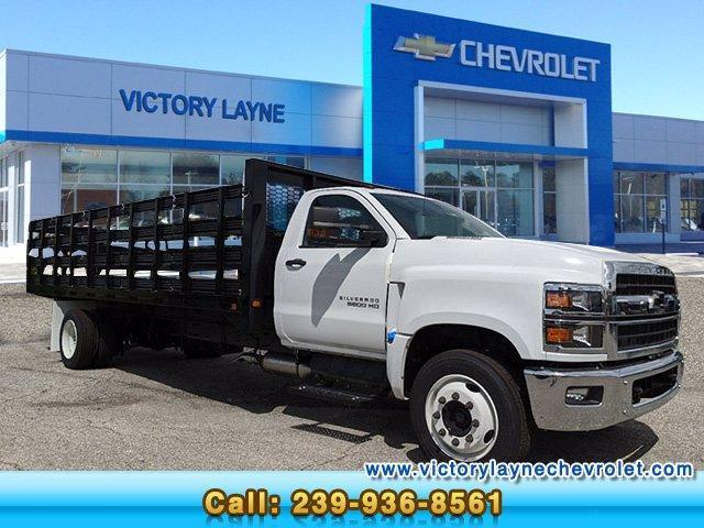 2019 Chevrolet Silverado Medium Duty Regular Cab DRW RWD, Knapheide Stake Bed #S9367 - photo 1
