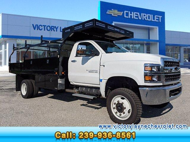 2019 Silverado Medium Duty Regular Cab DRW 4x4, Knapheide Concrete Concrete Body #S9388 - photo 1