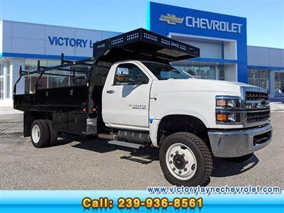 2019 Chevrolet Silverado Medium Duty Regular Cab DRW 4x4, Knapheide Concrete Concrete Body #S9388 - photo 1