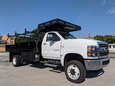 2019 Silverado Medium Duty Regular Cab DRW 4x4, Knapheide Concrete Concrete Body #S9388 - photo 3