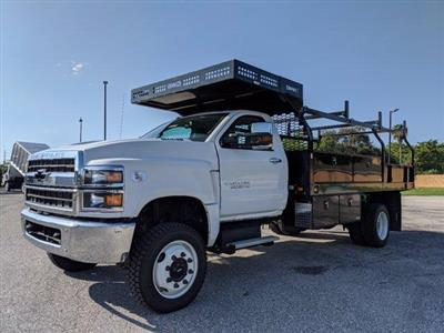 2019 Silverado Medium Duty Regular Cab DRW 4x4, Knapheide Concrete Concrete Body #S9388 - photo 7