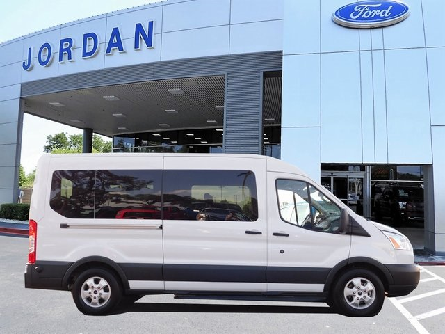 2018 Transit 350 Med Roof 4x2,  Passenger Wagon #JT4113 - photo 3