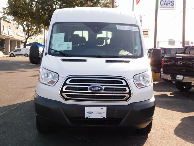 2018 Transit 350 Med Roof 4x2,  Passenger Wagon #JT4113 - photo 8